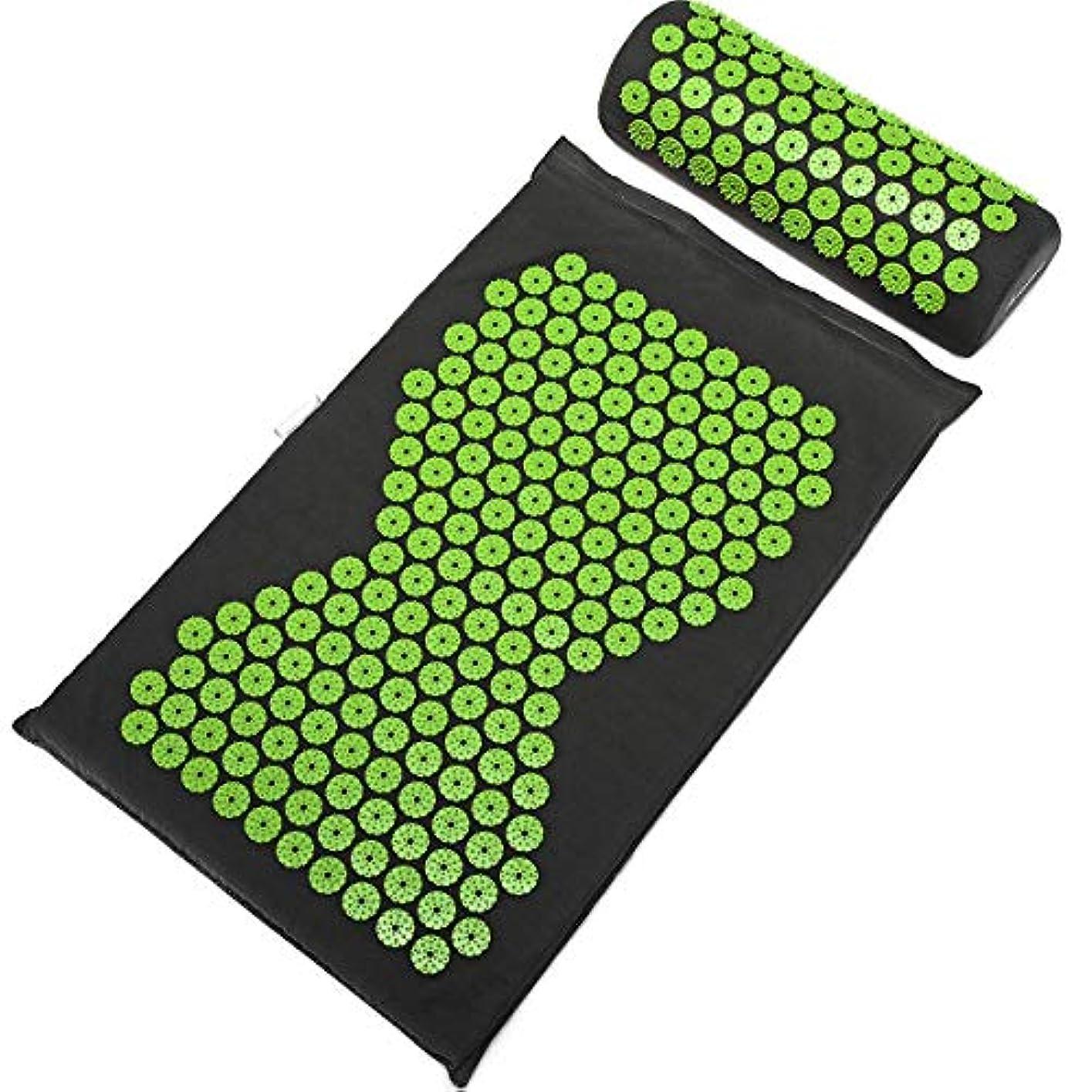 半径欲しいです返済Sulida ヨガマット マッサージマパッド ストラップ付き マッサージ枕 トレーニングマット 睡眠改善 自宅運動 マット 高密度 持ち運び 滑り止め 血行促進 収納簡単 エコ グリップ力 クッション性