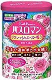 【医薬部外品】バスロマン 入浴剤 リフレッシュローズの香り [600g]