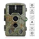 Outry トレイルカメラ 防犯カメラ 監視カメラ HD1080P LED46搭載 動体検知 撮影 録画 IP56防水 家庭 屋外 野生動物調査用