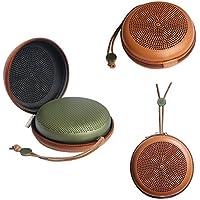 GubestポータブルEVA PU Beoplay A1 BluetoothスピーカーケースB&O Play用カバープロテクターBANG&OLUFSEN BeoPlay A1 Bluetooth Speaker(ブラウン)