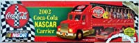 2002 Coca-Cola Nascar Carrier ~ Gold Version by Equity Marketing