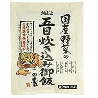 創健社 国産野菜の五目炊込御飯の素 150g ×6セット