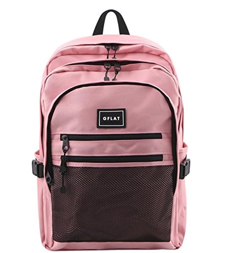 率直な影のある縫い目GFLAT Mammoth Backpack リュックバッグバックパック大容量旅行通学遠足ユニセックスバッグ多機能バッグ(海外直送品)