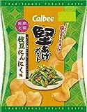 カルビー 堅あげポテト枝豆にんにく味 60g