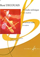 デクーエ : 35の技術練習曲集 (サクソフォン教則本) ビヨドー出版