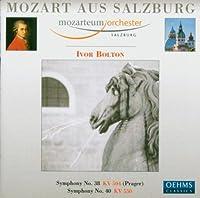 モーツァルト:交響曲第38番, 第40番(ザルツブルク・モーツァルテウム管/ボルトン)