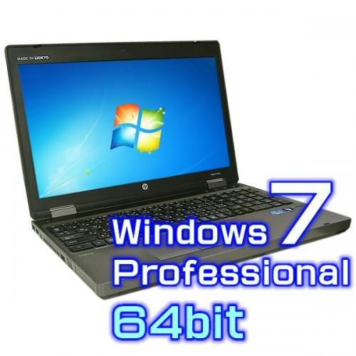 中古ノートパソコン hp ProBook 6560b 【Windows7 Pro 64bit・Core i7・メモリ8GB・テンキー有り】
