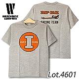 ウエアハウス 4601 PAY'N PAK Tシャツ 杢グレー M
