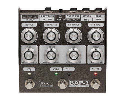 Crews Maniac Sound クルーズマニアックサウンド BAP-2 ベースフットプリアンプ