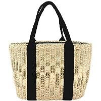 Straw Beach Bag Handbags Shoulder Bag Tote