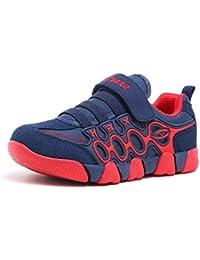 キッズ スニーカー 運動靴 男の子 女の子 通学靴 通気 防滑 シューズ