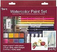 Studio 71 Watercolor Paint Set 34/pkg-