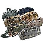 PeachCraft 多機能バッグ 5WAY ウエストバッグ ショルダーバッグ メッセンジャーバッグ ハンドバッグ 自転車用バッグ