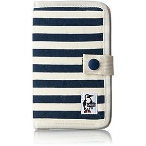 [チャムス] スマートフォンケース Notebook Style Mobile Case Sweat CH60-2361-A047-00 N005 ネイビーナチュラル