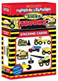 Tonka Constsruction Trucks: Stacking Cards (Scholastic Hands-on Learning Stacking Cards)