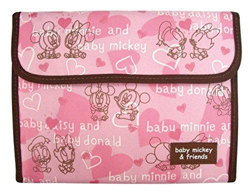 クーザ ジャバラ式母子手帳ケース (ベビーミッキー&フレンズ) DMM-2202