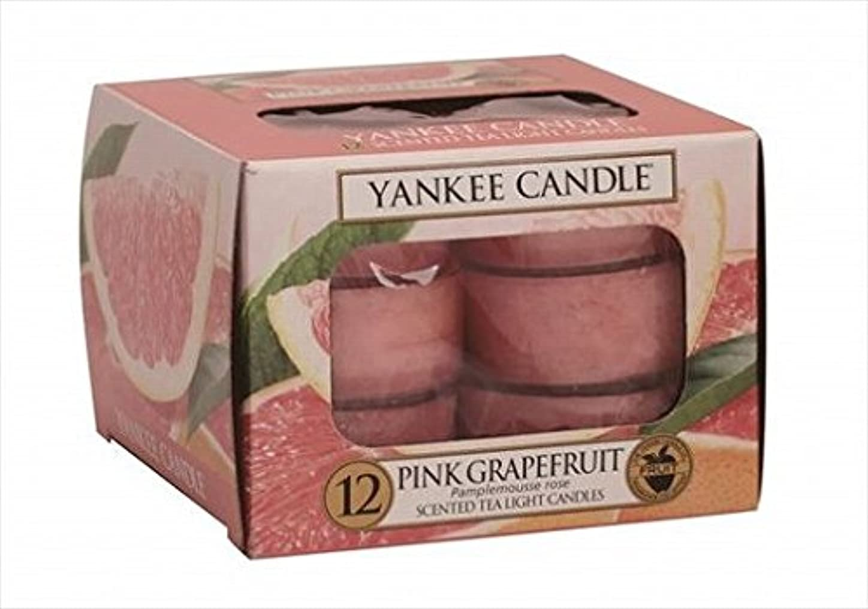 解明するブロックする約YANKEE CANDLE(ヤンキーキャンドル) YANKEE CANDLEクリアカップティーライト12個入り 「 ピンクグレープフルーツ 」 キャンドル 40x40x22mm フルーツ系(K00505258)