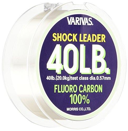 モーリス(MORRIS) ショックリーダー バリバス フロロカーボン 30m 12号 40lb ナチュラル