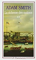 La richesse des nations t.2
