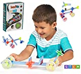 Brackitz BZ82211 Driver: 43 Piece Set - Imagination Set and Vehicle Building STEM Toy (Pack of 43)