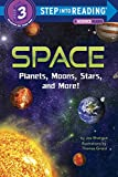 Space: Planets, Moons, Stars, and More! (Step into Reading) 画像