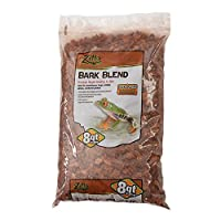 Zilla Reptile Terrarium Bedding Substrate Bark Blend, 8-Quart by Zilla