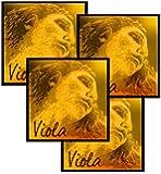 EVAH PIRAZZI GOLD エヴァピラッチゴールド ビオラ弦 (セット)