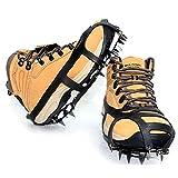 アディダス 靴 ZooooM 靴底 履かせる だけ 凍結 路面 転倒 防止 簡単 滑り 止め 携帯 アイス スノー スパイク かんじき 雪 氷 登山 靴 左右 セット ( L サイズ ) ZM-SS1442-L