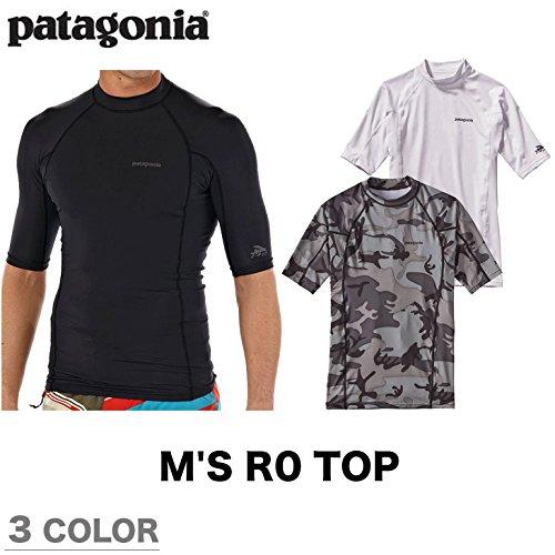 PATAGONIAパタゴニアラッシュガードM'SR0TOPメンズR0トップ半袖MWFEA