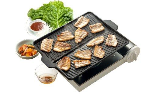 イシガキ産業 おいしさ特選便 ヘルシー焼肉グリル(角型) 3562