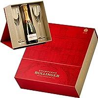 ボランジェ・ハーフ ギフトセット グラス2脚付き 正規品 シャンパン/辛口/白 375ml スペシャル・キュヴェ・セット