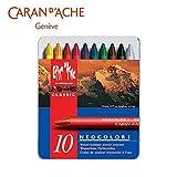 イラスト、グラフィックデザイン、クラフトワークに最適! カランダッシュ 7000-310 ネオカラーI 10色セット 618202