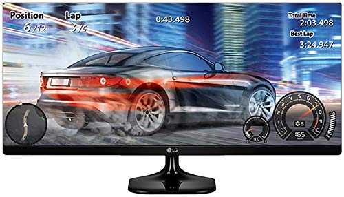 LG 25UM58-P 25-Inch 21:9 UltraWide IPS Monitor with Screen Split by LG Electronics