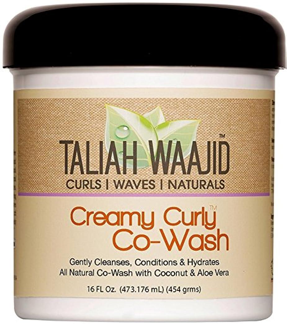 倍増道を作る抗生物質Taliah Waajid クリーミーカーリーCowash、16オンス