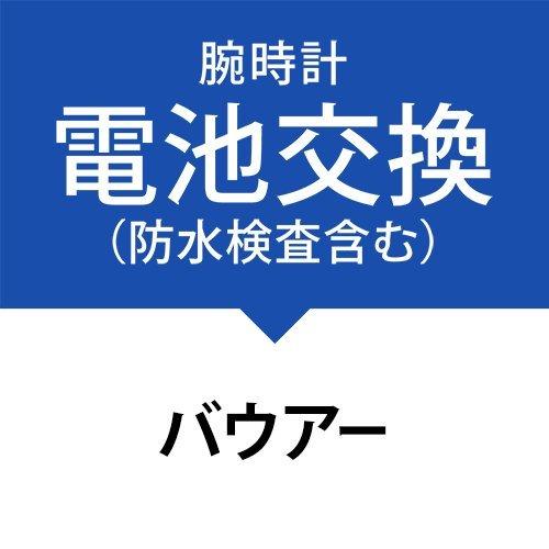 電池交換サービス(防水検査、パッキン交換、金属ベルト洗浄を含む)[バウアー]Beurer