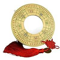ラオジュン炉 純銅Jiugongゴシップミラー凸面鏡凹面鏡様々なオプションのペンダント装飾品ホームデコレーションラッキー