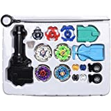 OBAST Beyblade Metal Spinning Sets Fusion 4D 4 Gyro Box Fight Master String Launcher