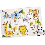 クラシック世界動物園動物パズル( 8 Piece )