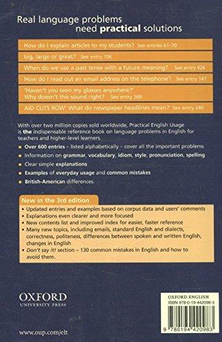 『Practical English Usage (Practical English Usage, Third Edition)』の1枚目の画像
