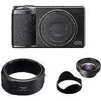 RICOH デジタルカメラ GRIII GRIII APS-CサイズCMOSセンサー リコー GR3 15041+RICOH レンズアダプター GA-1 リコー 37817+RICOH ワイドコンバージョンレンズ GW-4 リコー 広角 30248