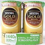 ネスカフェ ゴールドブレンド エコ&システムパック 110g ×4本パック