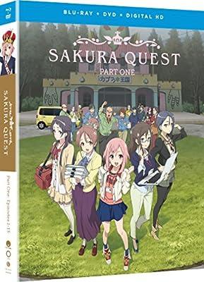 Sakura Quest Part 1 Blu-Ray/DVD(サクラクエスト パート1 1-13話)