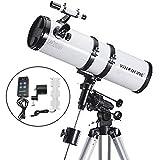 Visionking 150ミリの大口径反射望遠鏡の迫力天体望遠鏡 モータードライブ