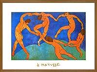 ヘンリー・マティス『ダンス (大)』オフセットによる複製