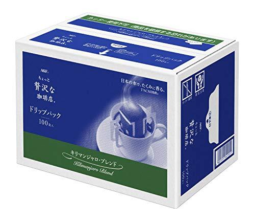 ちょっと贅沢な珈琲店 コーヒーバッグ キリマンジャロブレンド 粉 (7gx100p) 700g