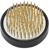 フラワーアレンジメント剣山、丸真鍮針フラワーアレンジメントピンいけばな剣山フラワーデコレーション固定アレンジツール(01)