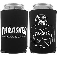 THRASHER スラッシャー スケボー 小物 GONZ KOOZIE 2 保冷ボトルホルダーブラック NO01