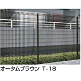 LIXIL TOEX ハイグリッドフェンスN8型 本体 T-15  【リクシル】 【スチールフェンス 柵】  シャイングレー