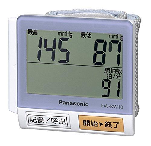 パナソニック 手くび血圧計 紫 EW-BW10-V...