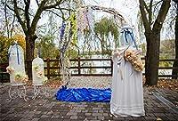 結婚式の背景。